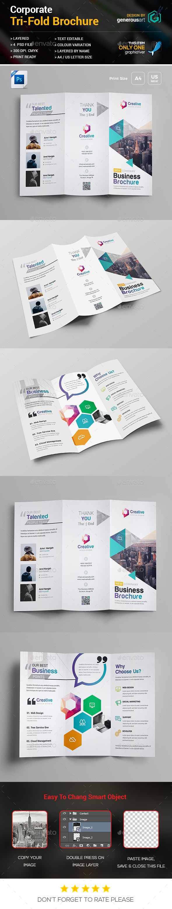 GraphicRiver Tri-Fold Brochure 20628397