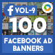 Facebook AD Banners Vol 9 - 50 Designs