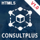 ConsultPlus - Corporate Business & Financial HTML5 Template