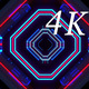 Tunnel Neon 4K 01