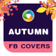 Autumn Sale Facebook Cover Designs - 10 Designs