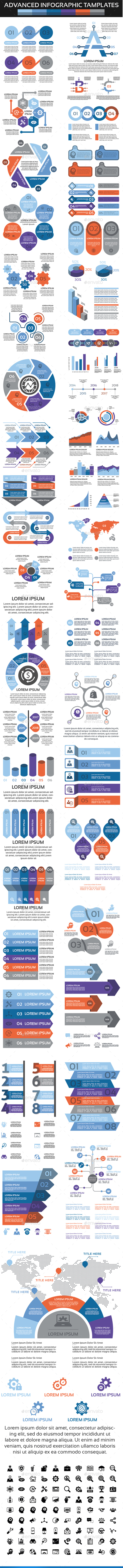 GraphicRiver Advanced Infographic Elements 20628989