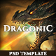 Dragonic: The Ultimate One-Page Premium Gaming PSD Template
