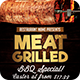 Meat Grilled Flyer