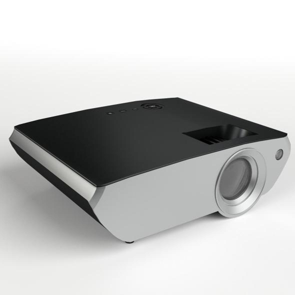 Mini Projector - 3DOcean Item for Sale