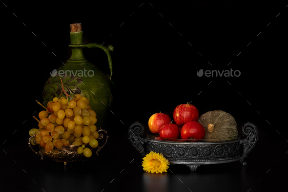 Fall Still Life - Stock Photo - Images