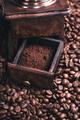 Grinding Coffee Manually