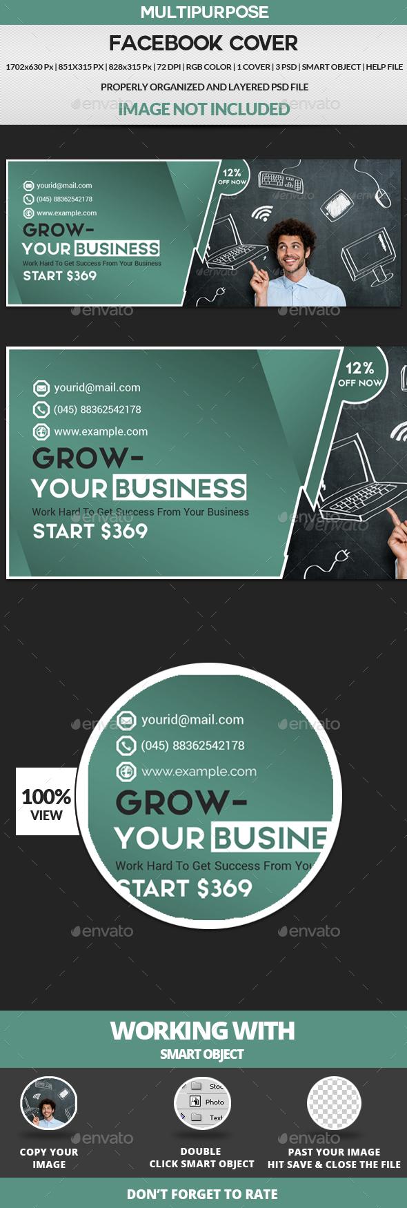 GraphicRiver Facebook Cover 20629700