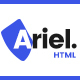Ariel - Multi-Purpose HTML Template - ThemeForest Item for Sale