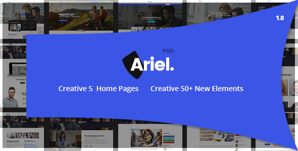 Ariel - Multi-Purpose HTML Template - Business Corporate