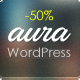 Aura - One Page & Multi Page WordPress Theme