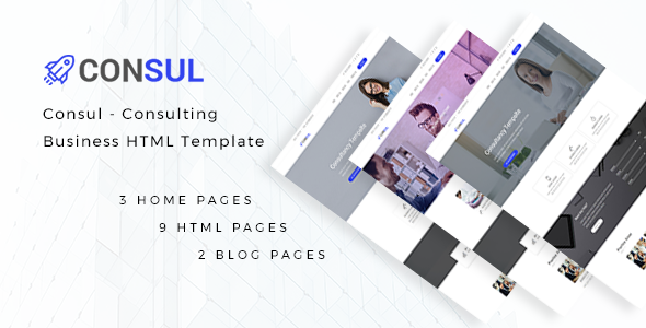 Consul - Consulting Business HTML Template