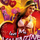 Love me Valentine Day Party Flyer - GraphicRiver Item for Sale