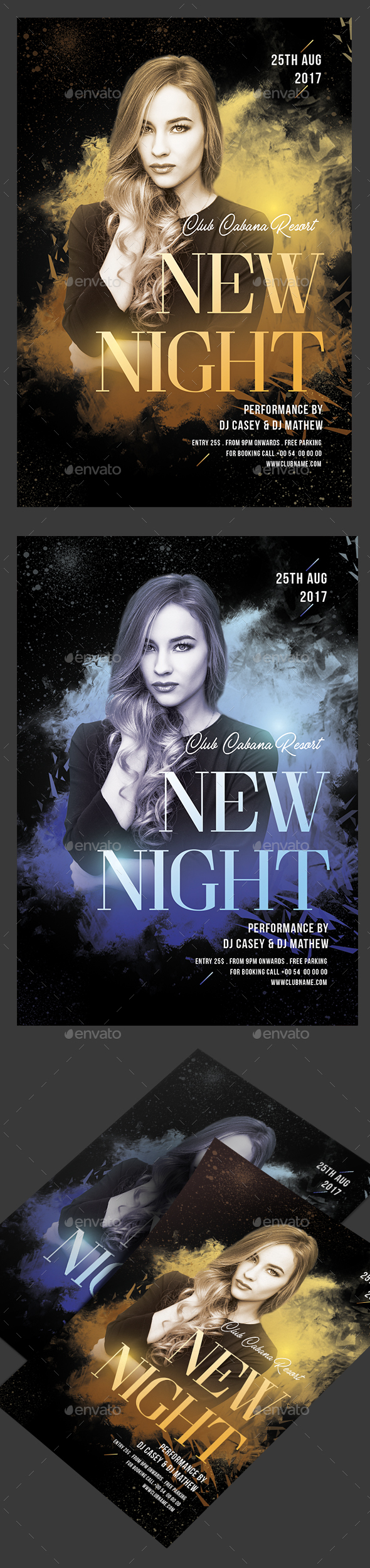 New Night Party Flyer - Clubs & Parties Events