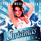 Christmas / New Year Music Dance Party Night Flyer - GraphicRiver Item for Sale
