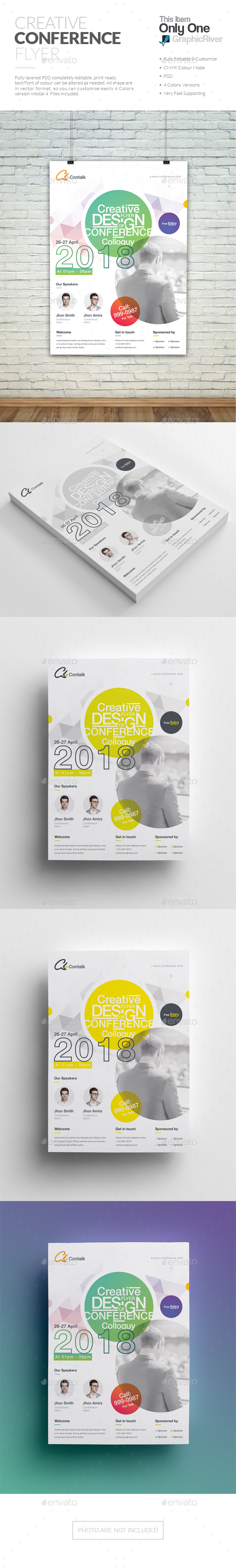 GraphicRiver Conference Flyer 20630263