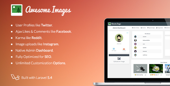 Awesome Images : Image Sharing Platform
