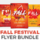 Fall Festival Flyer Bundle set 01