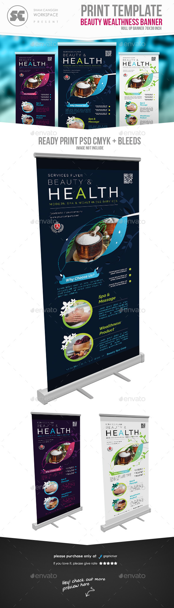 GraphicRiver Beauty Spa Banner 20630315