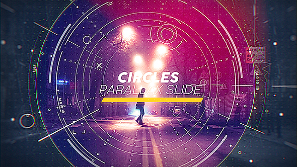 Circles Parallax Slideshow