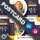Kids School Postcard Templates - GraphicRiver Item for Sale