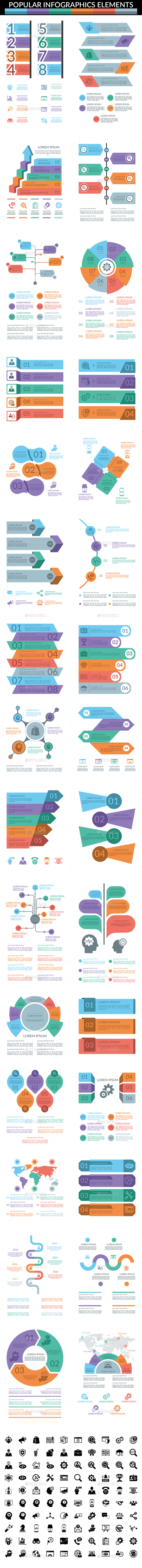 GraphicRiver 30 Popular Infographic Elements 20630544