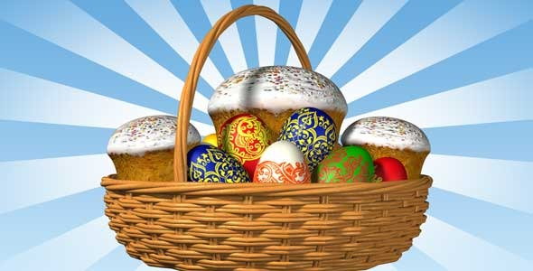 Easter basket with alpha by vslavb videohive play preview video negle Images