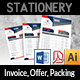Offer and Packing and Invoice Template Vol.2 - GraphicRiver Item for Sale