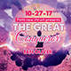 Great Conqueror Church Flyer - GraphicRiver Item for Sale