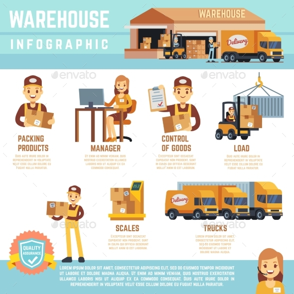 GraphicRiver Warehouse and Merchandise Logistics Vector 20631012