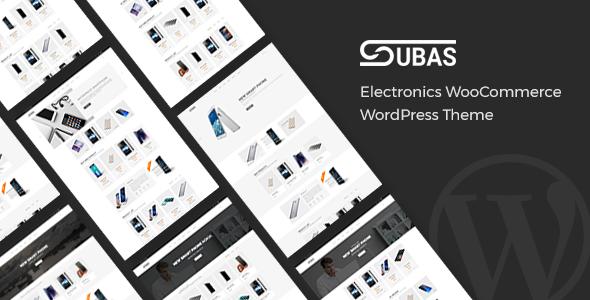 ThemeForest Subas Electronics WooCommerce WordPress Theme 20037858