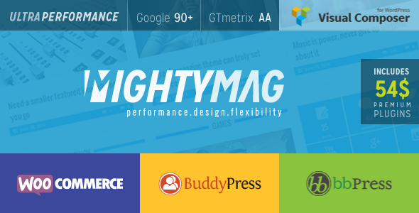 MightyMag - Magazine, Shop, Community WP Theme - News / Editorial Blog / Magazine