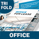 Office For Lease Trifold Brochure - GraphicRiver Item for Sale
