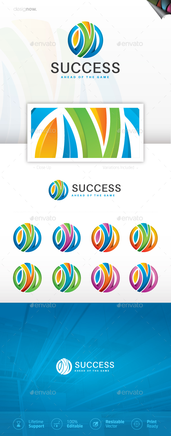 Success Logo - Humans Logo Templates