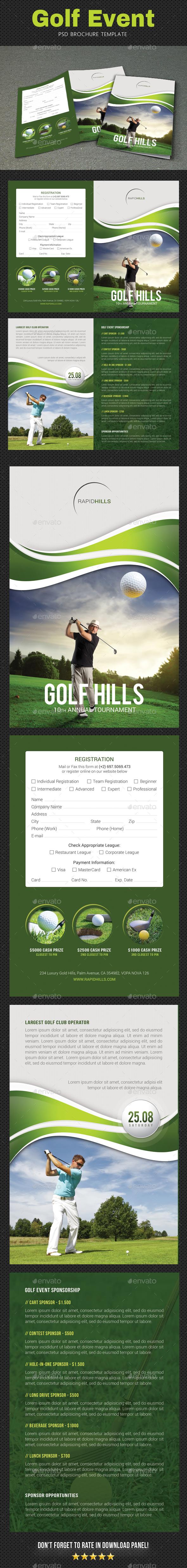 Golf Brochure - Corporate Brochures