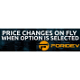 Price Change Options on Fly for Opencart