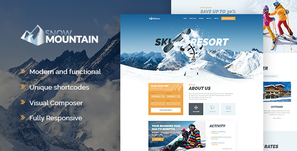 Image of Snow Mountain | Ski Resort & Snowboard School