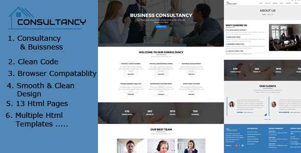 ThemeForest Dmax Consultancy Business Consulting and Finance 20631715
