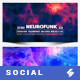 Electronic Music Party vol.33 - Facebook Post Banner Templates - GraphicRiver Item for Sale