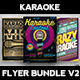 Karaoke Flyer Bundle V2 - GraphicRiver Item for Sale