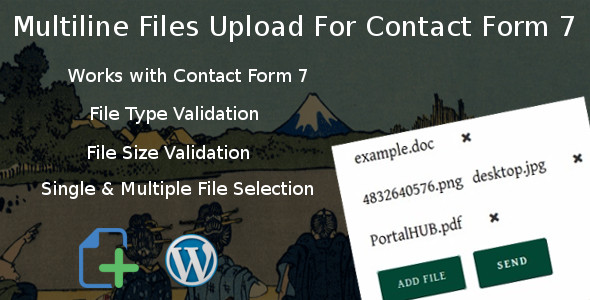 Multiline files upload for contact form 7 - CodeCanyon Item for Sale