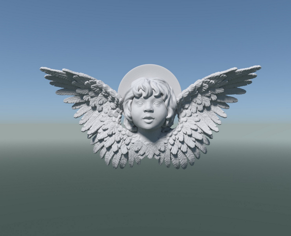 3DOcean Cherub Angel 20632089