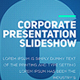 Corporate Presentation Slideshow - VideoHive Item for Sale