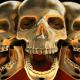 Golden Skull VJ loop