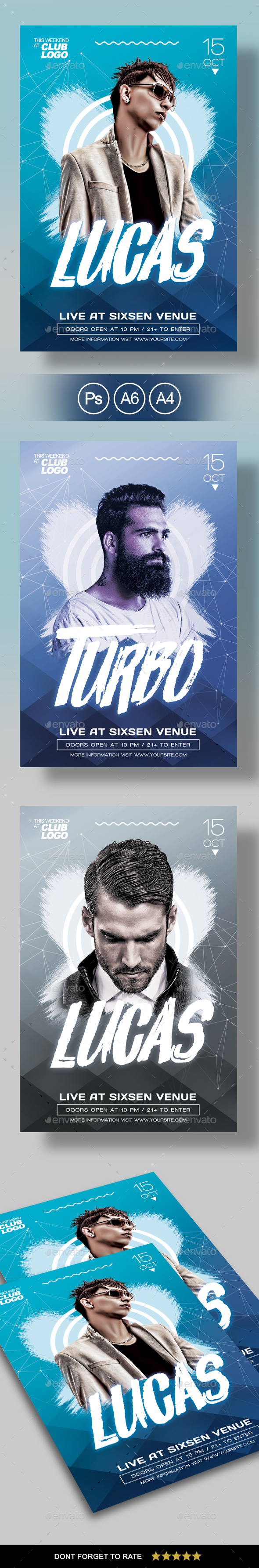 DJ Flyer / Poster - Concerts Events