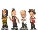 Cartoon Punk Rock Metal Guys Characters Vector Set