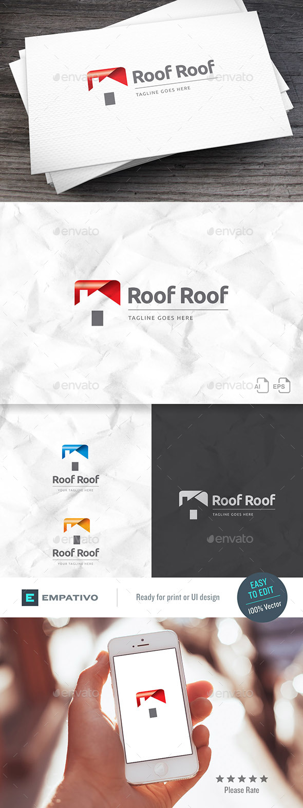 Roofroof Real Estate Logo