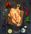 Whole raw chicken. - PhotoDune Item for Sale