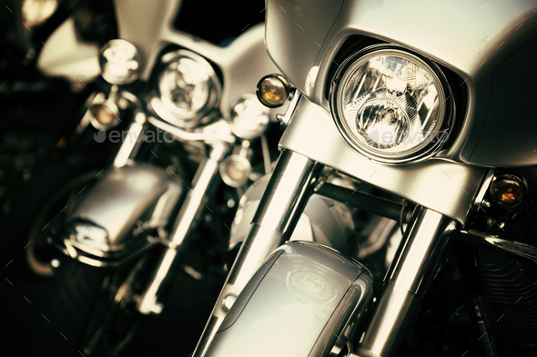 Motorcycles - Stock Photo - Images