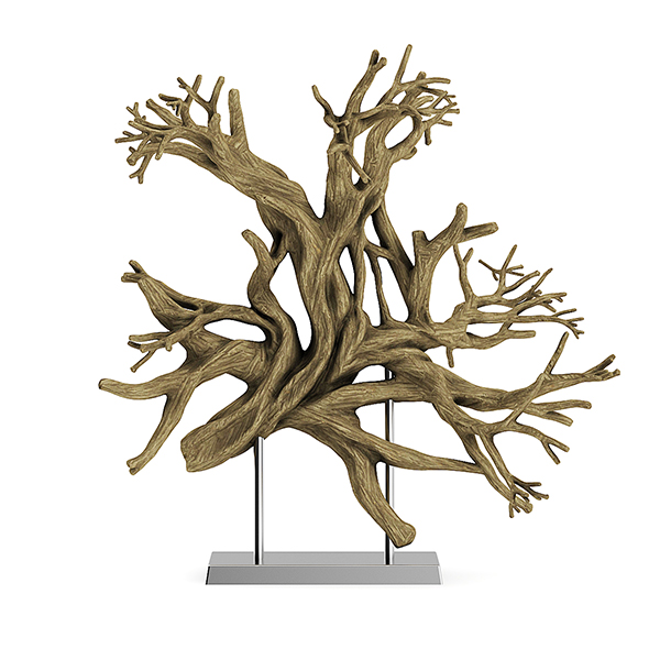 Tree Root Decoration - 3DOcean Item for Sale